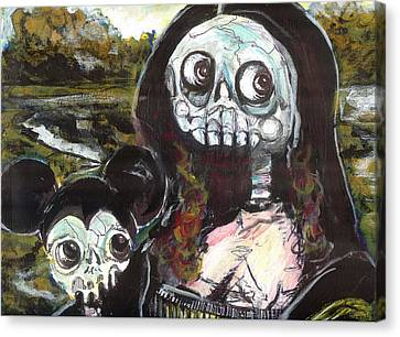 M And M Canvas Print by Robert Wolverton Jr