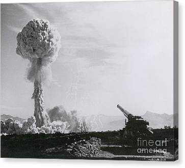 M65 Atomic Cannon Canvas Print by Science Source