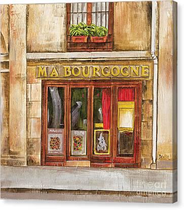 Ma Bourgogne Canvas Print by Debbie DeWitt