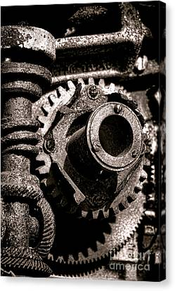 Machination  Canvas Print by Olivier Le Queinec