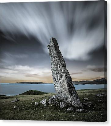 Macleod's Stone Canvas Print by Dave Bowman