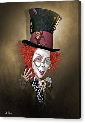 Mad Hatter Canvas Print by G Berry