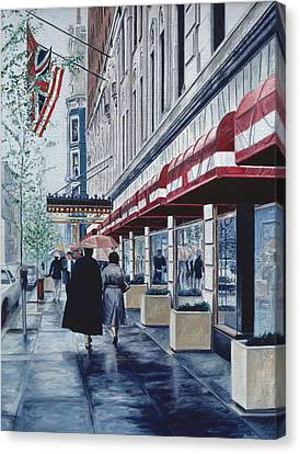 Madison Avenue Canvas Print by Anthony Butera