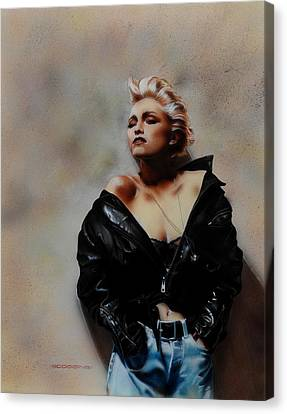 Madonna 1 Canvas Print by Tim  Scoggins