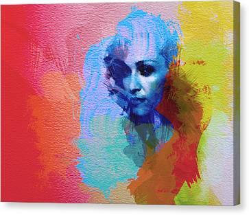 Madonna Canvas Print by Naxart Studio
