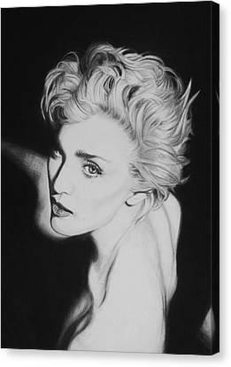 Madonna Canvas Print by Steve Hunter