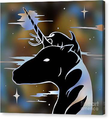 Magic Horn Canvas Print by Robert Ball