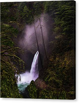 Magical Falls 2 Canvas Print by Larry Marshall