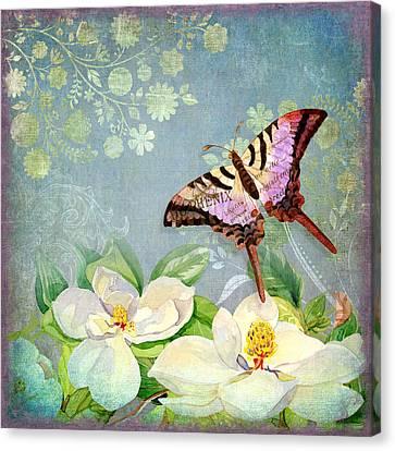 Magnolia Dreams  Canvas Print by Audrey Jeanne Roberts