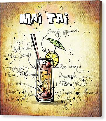 Mai Tai Canvas Print by Movie Poster Prints