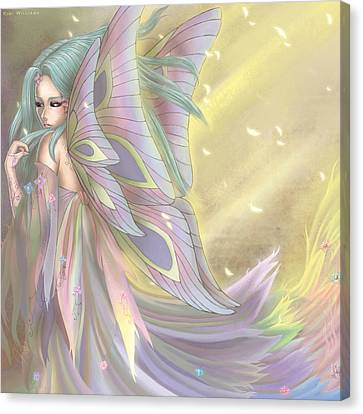 Maiden Of Earth Canvas Print by KimiCookie Williams