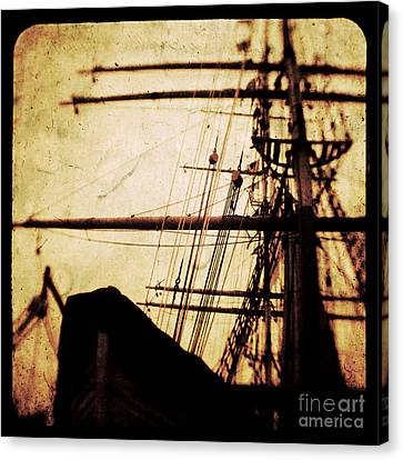 Maiden Voyage Canvas Print by Andrew Paranavitana