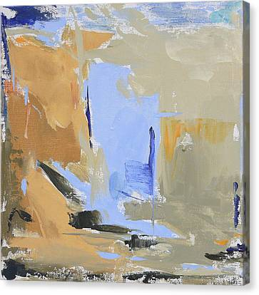Maine - Lowtide I Canvas Print by Jacquie Gouveia
