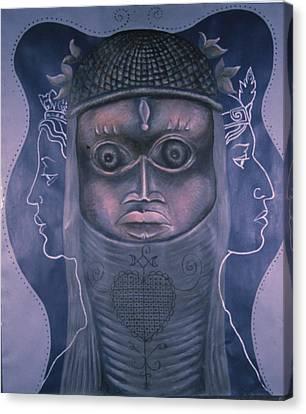 Maitresses Canvas Print by Barbara Nesin