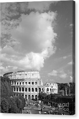 Majestic Colosseum Canvas Print by Stefano Senise
