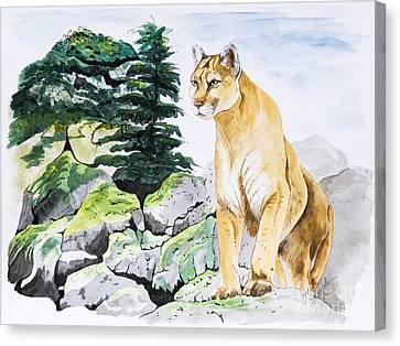 Majestic Domain Canvas Print by Joette Snyder