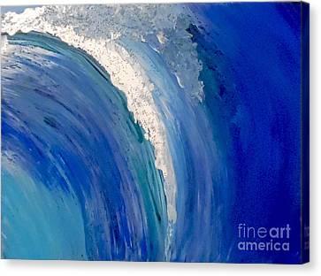 Make Waves Canvas Print by Jilian Cramb - AMothersFineArt