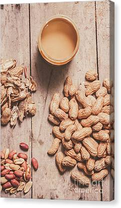 Making Peanut Butter Canvas Print by Jorgo Photography - Wall Art Gallery