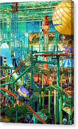 Mall Of America Canvas Print by Rich Beer