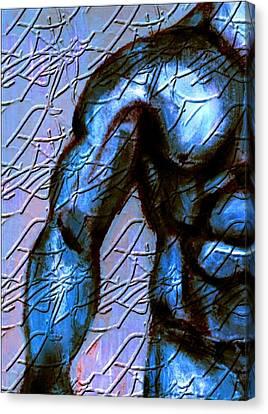Man Of Steel Canvas Print by Joseph Ferguson