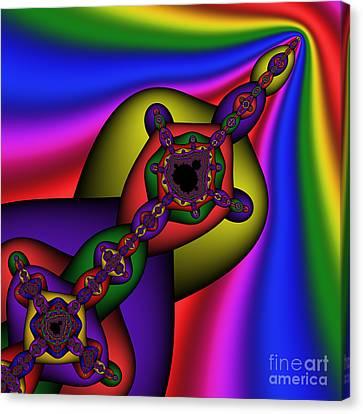 Mandala 160 Canvas Print by Rolf Bertram