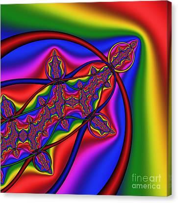 Mandala 161 Canvas Print by Rolf Bertram