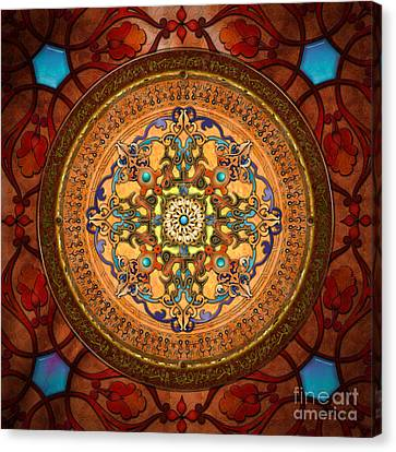 Mandala Arabia Canvas Print by Bedros Awak