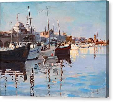 Mandraqi Rhodes Greece Canvas Print by Ylli Haruni