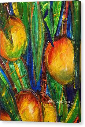 Mango Tree Canvas Print by Julie Kerns Schaper - Printscapes
