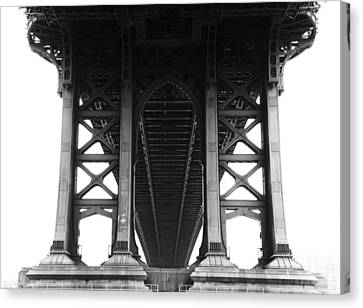 Manhattan Bridge Canvas Print by Adam Garelick