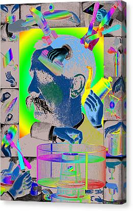 Manipulation Canvas Print by Eric Edelman