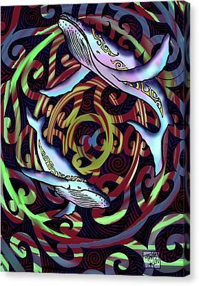 Maori Canvas Print by Tawsh Lav