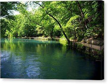 Maramec Springs 4 Canvas Print by Marty Koch