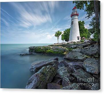 Marblehead Breeze Canvas Print by James Dean