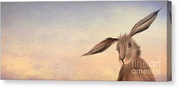 March Hare Canvas Print by John Edwards