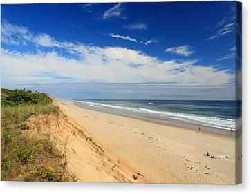 Marconi Beach Cape Cod National Seashore Canvas Print by John Burk