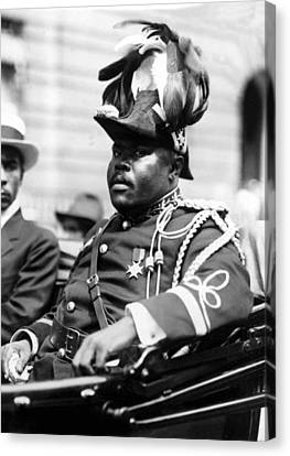 Marcus Garvey, The Negro Moses, Rides Canvas Print by Everett