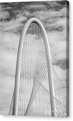 Margaret Hunt Hill Bridge Black And White Canvas Print by Tod and Cynthia Grubbs