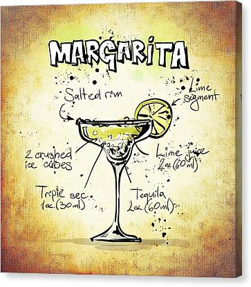 Margarita Canvas Print by Movie Poster Prints