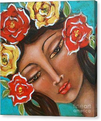 Maria Elena Canvas Print by Maya Telford