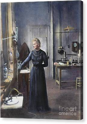 Marie Curie (1867-1934) Canvas Print by Granger