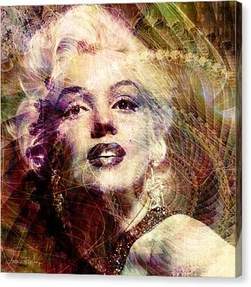 Marilyn Canvas Print by Barbara Berney