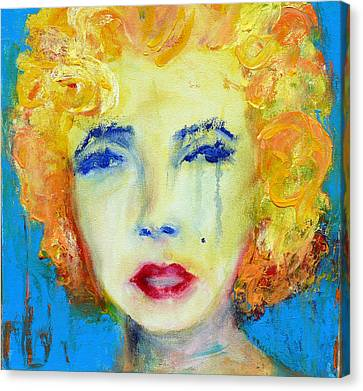 Marilyn Canvas Print by Jacquie Gouveia
