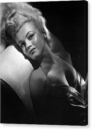 Marilyn Monroe, Ca. Early 1950s Canvas Print by Everett