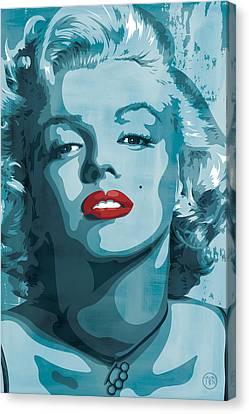 Marilyn Monroe Canvas Print by Jeff Nichol