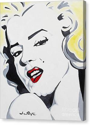 Marilyn Monroe Canvas Print by Joseph Palotas