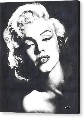 Marilyn Monroe Canvas Print by Maciel Cantelmo