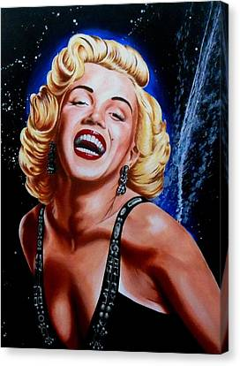 Marilyn Monroe Canvas Print by Nathan Wilson
