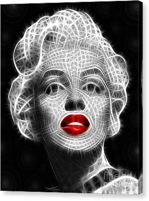 Marilyn Monroe Canvas Print by Pamela Johnson