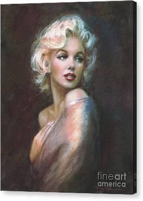 Marilyn Ww  Canvas Print by Theo Danella